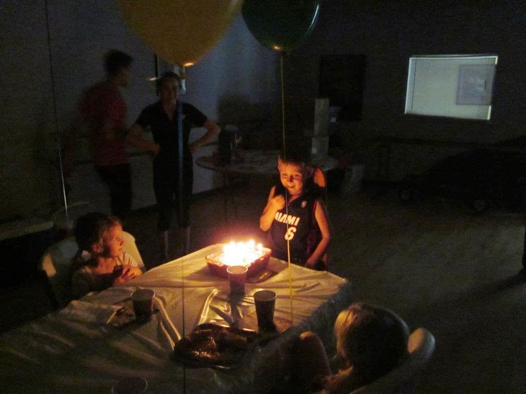 Jimmy's 6th Birthday