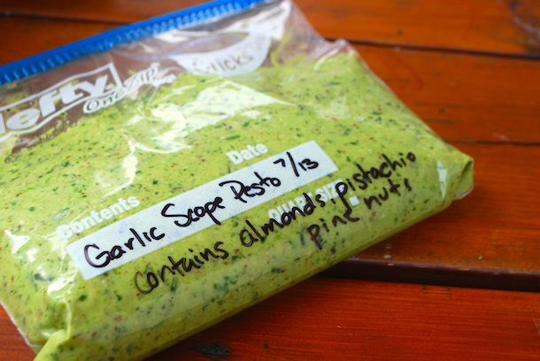 Garlic Scape Pesto | Always Order Dessert
