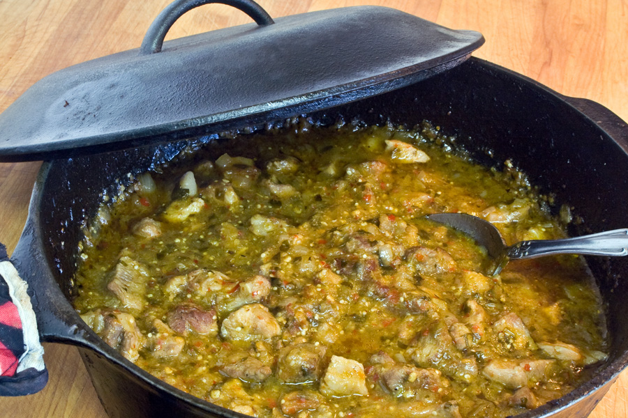 Chili verde revisited