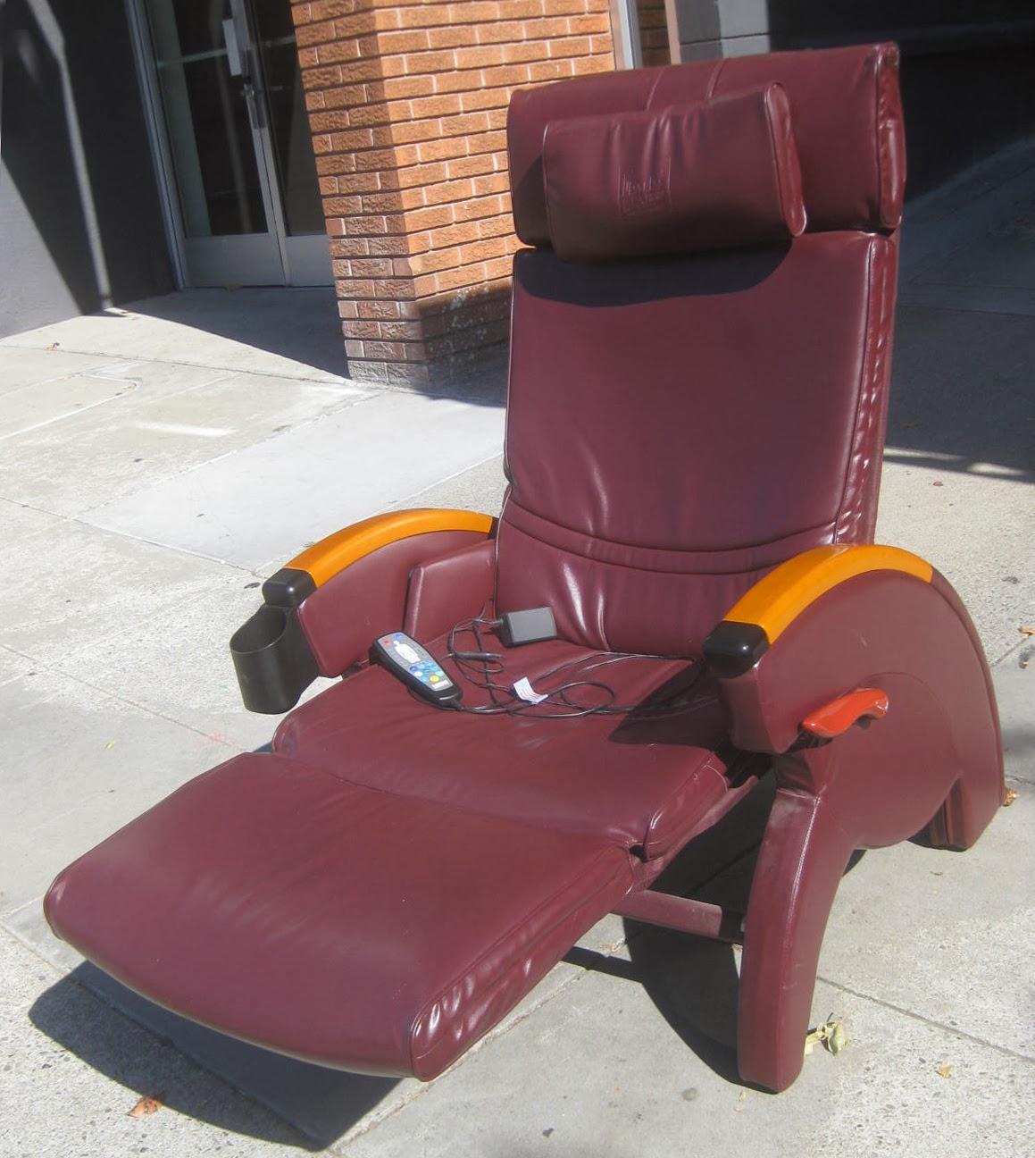 Sold tony little destress anti gravity massage recliner 125