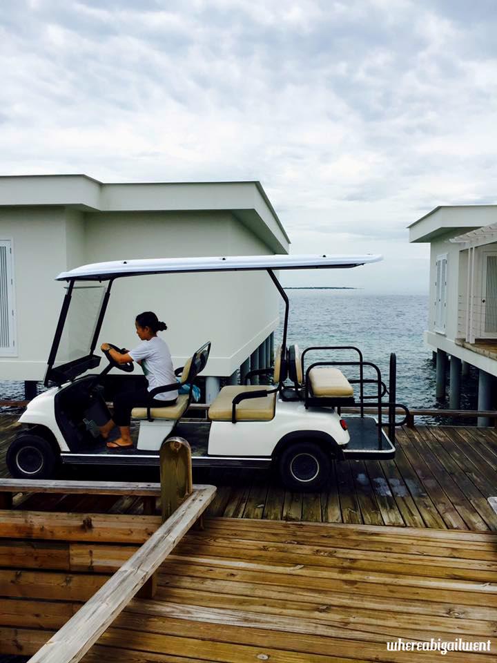 Amilla Fushi Overwater Villa Buggy