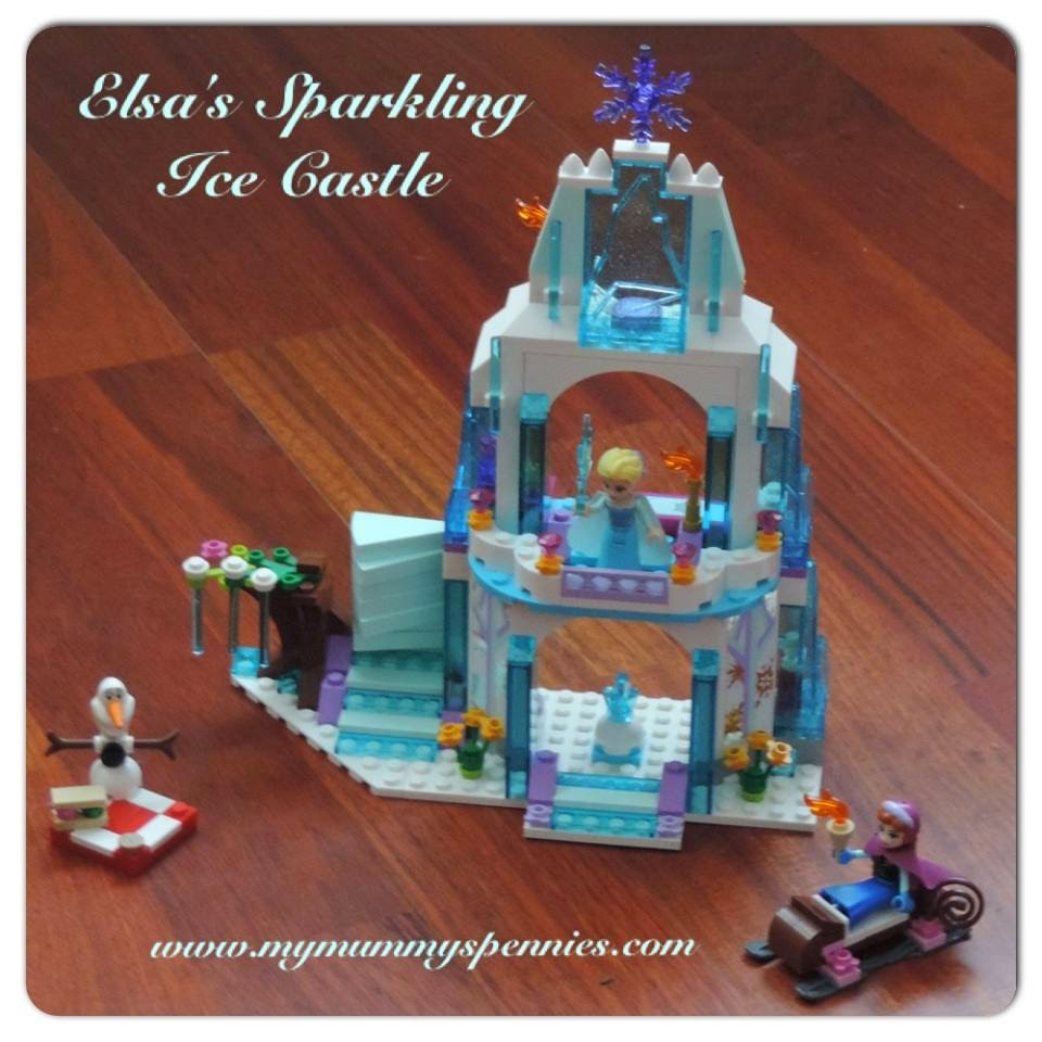 Frozen Lego Elsa's Ice castle disney princess