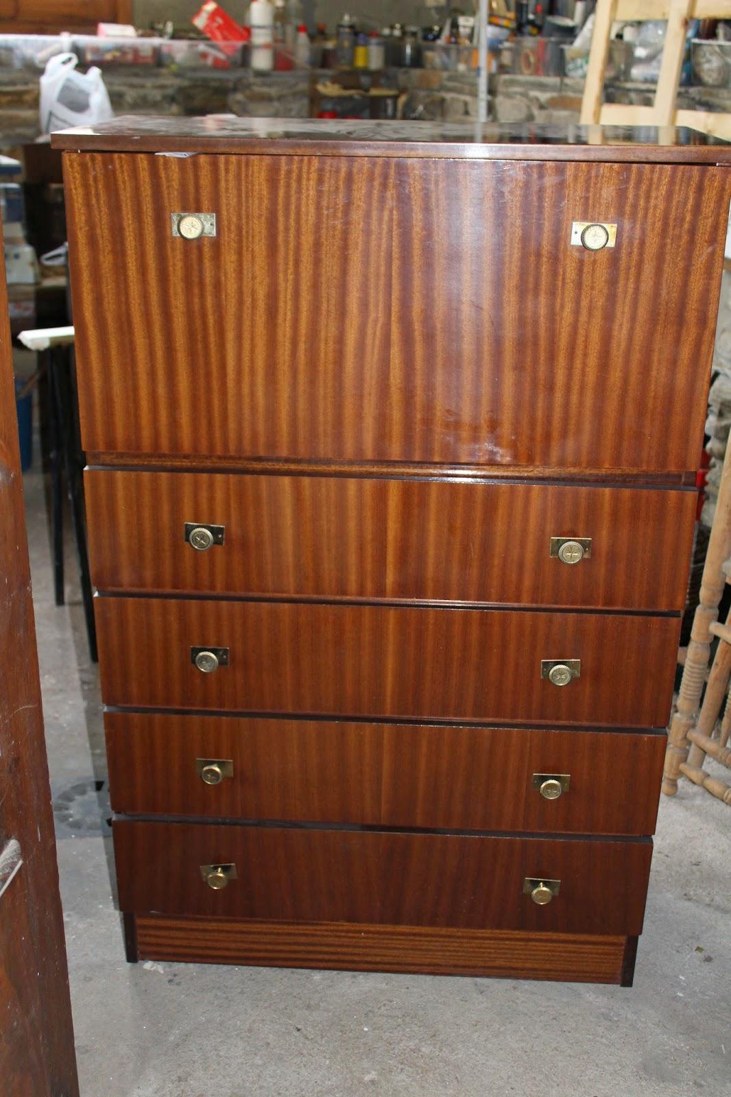 Gloria vintage escritorio de formica - Muebles de formica ...