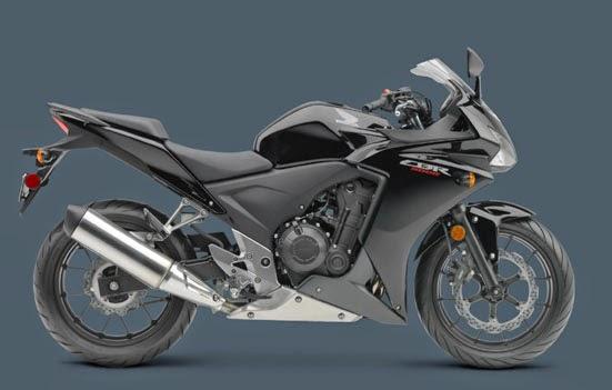 HONDA CBR 500R BLACK