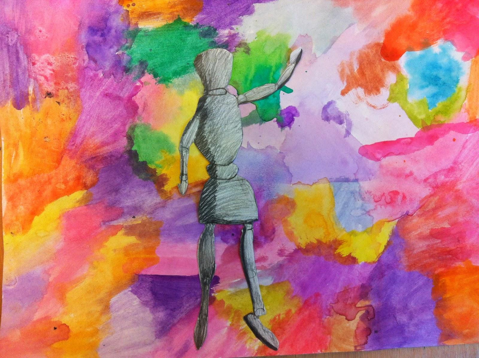 Language Movement Drawing to Draw The Human Figure