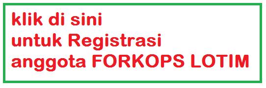 Registrasi Forkops Lotim