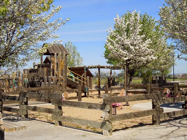 Upper Playground, Barney Schwartz Park, © B. Radisavljevic