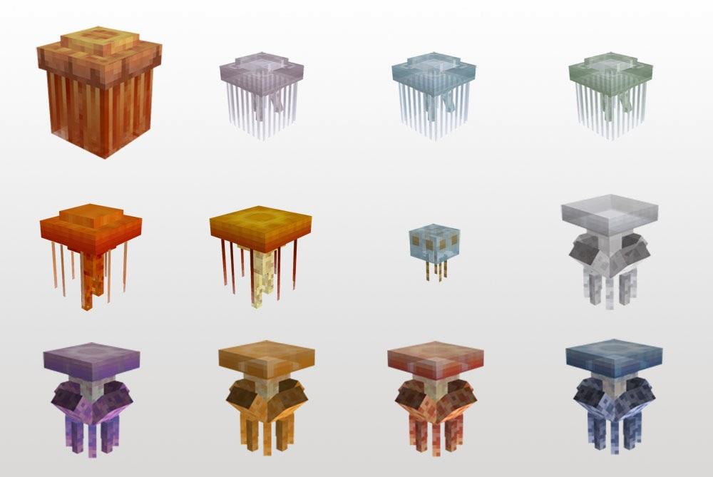 Mo' Creatures medusas Minecraft mod