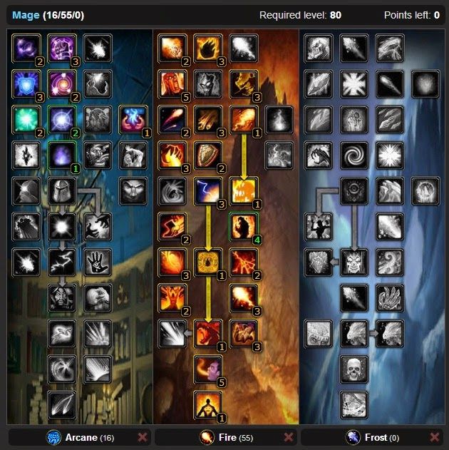 Guide best pvp fire mage talent tree wotlk wow 3 3 5 amp glyphs wow