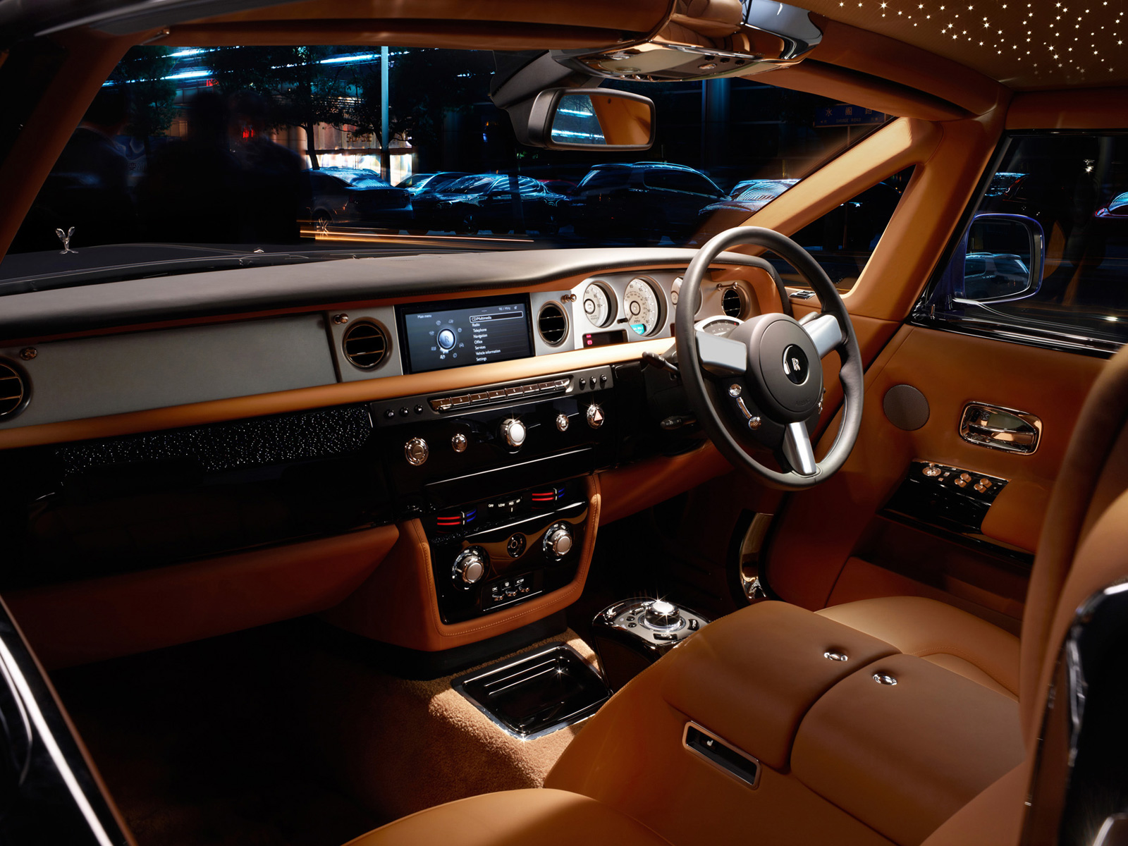 Rolls royce interior car models for Rolls royce ghost interior