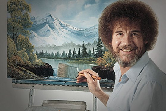 Artist Who Paints Happy Trees