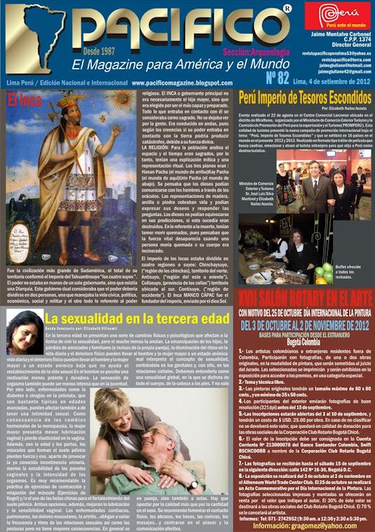 Revista Pacífico Nº 82 Arqueología