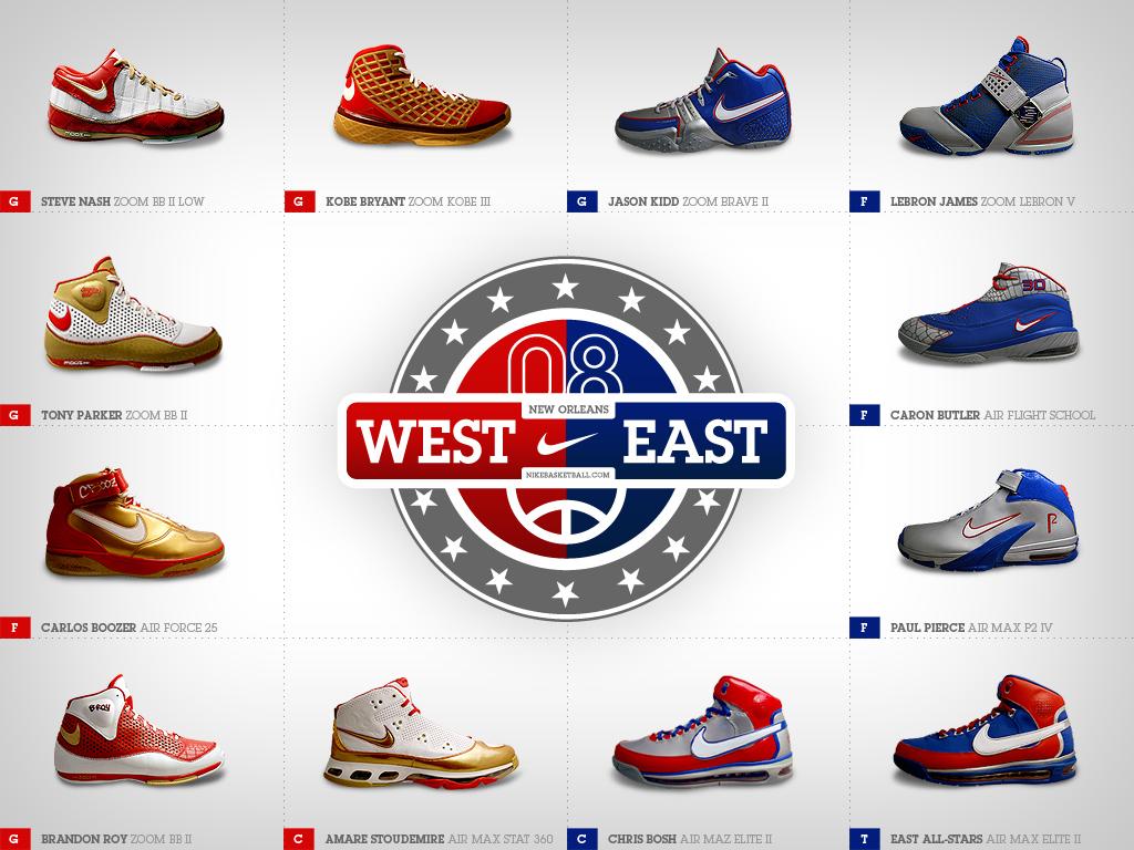 NBA All-Star Nike Shoes