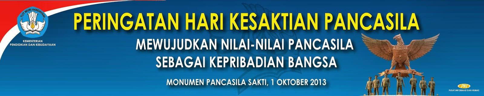 Sambutan Mendikbud Dalam Peringatan Hari Kesaktian Pancasila 1 Oktober