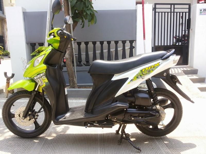 Motor Suzuki Nex 2014 Hijau