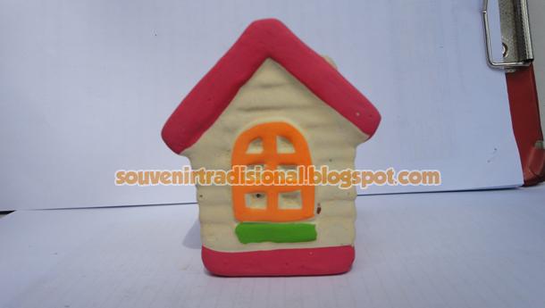 Tempat Pensil Aneka Model Rumah Unik