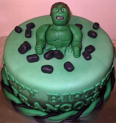 Delanacakesincredible Hulk Cake Birthday Party Ideas
