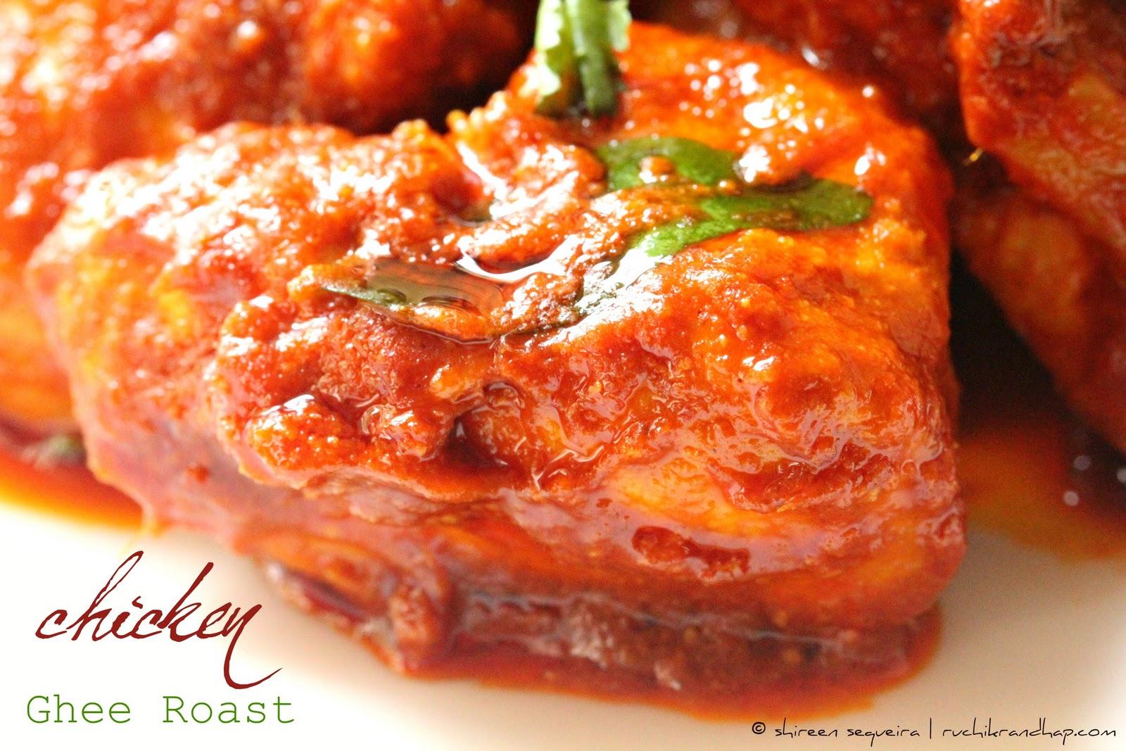 Chicken Ghee Roast Hebbar S Kitchen