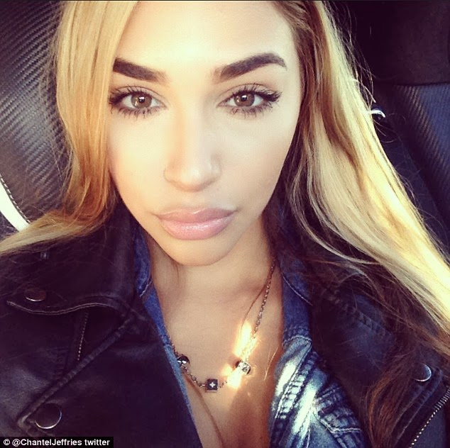 Justin Bieber's pretty model pal Chantel Jeffries