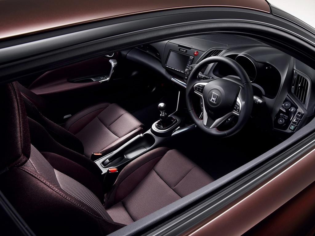Honda CR-Z, hybryda, japoński samochód, tuning, JDM, wnętrze, interior, fotki, zdjęcia, usportowiony, 日本車, スポーツカー, チューニングカー, ハイブリッドカー, ホンダ