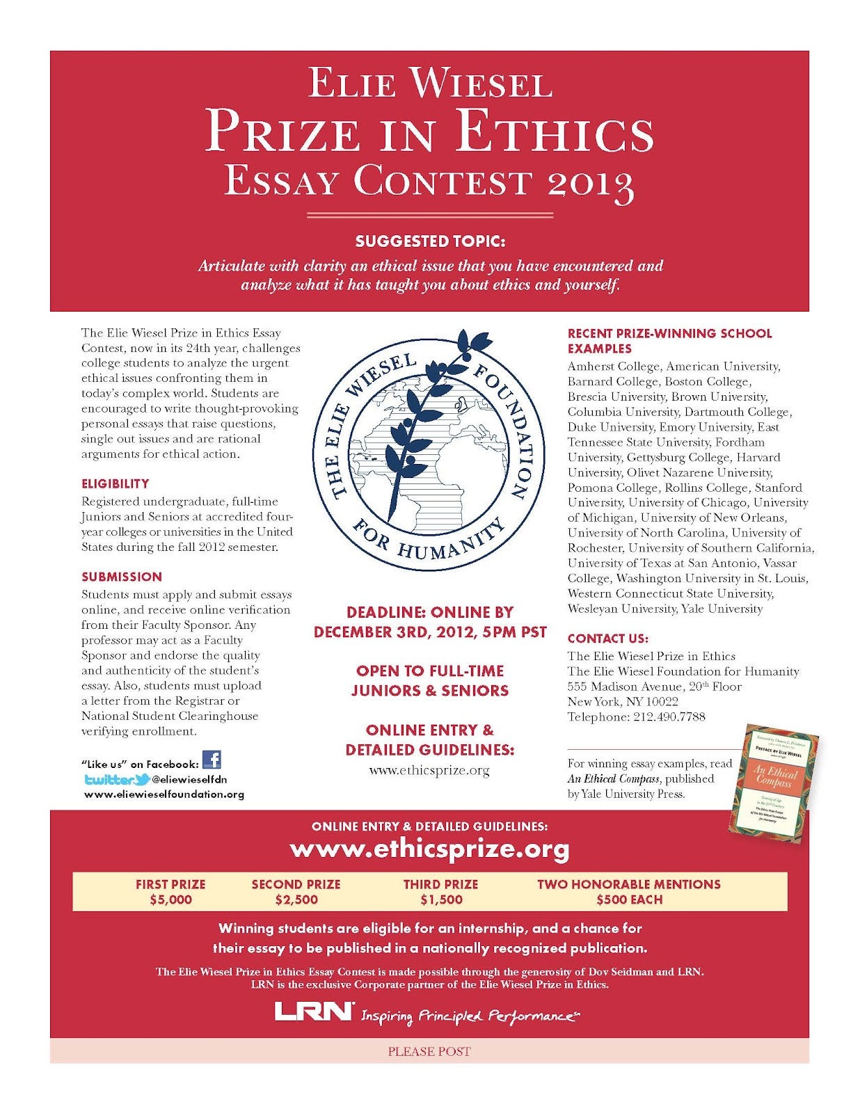 politics essay contest The independent social research foundation (isrf) and the cambridge journal of economics (cje) intend to award a prize of €7,000 for the best essay on the topic.