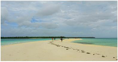 Pinggiran Pantai Nurtafur, Maluku