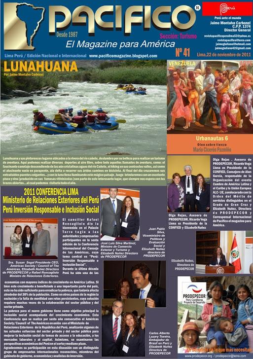 Revista Pacifico Nº 41 turismo