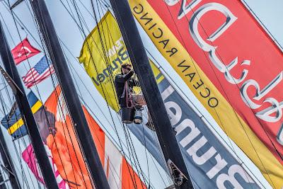 La Volvo Ocean Race repart dimanche de Newport. Cap sur Lisbonne.