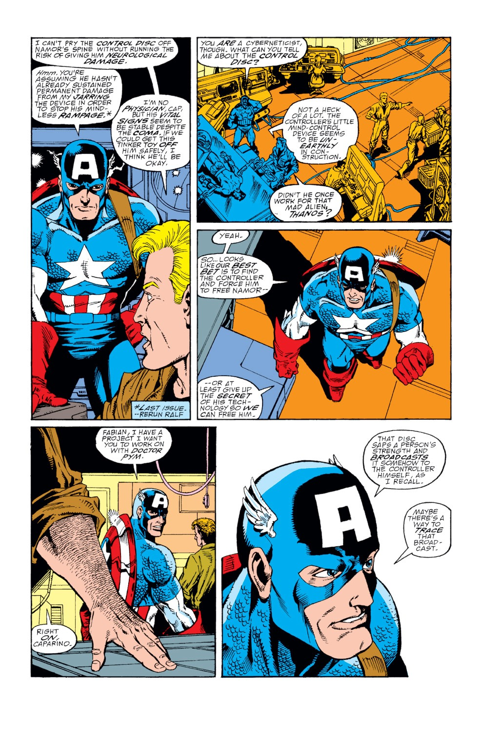 Captain America (1968) Issue #366 #299 - English 3