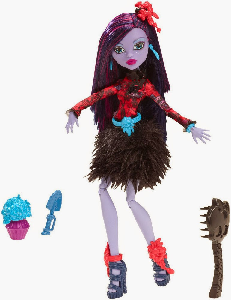 JUGUETES - MONSTER HIGH Gloom and Bloom  Jane Boolittle | Muñeca  Producto Oficial | Mattel | A partir de 6 años