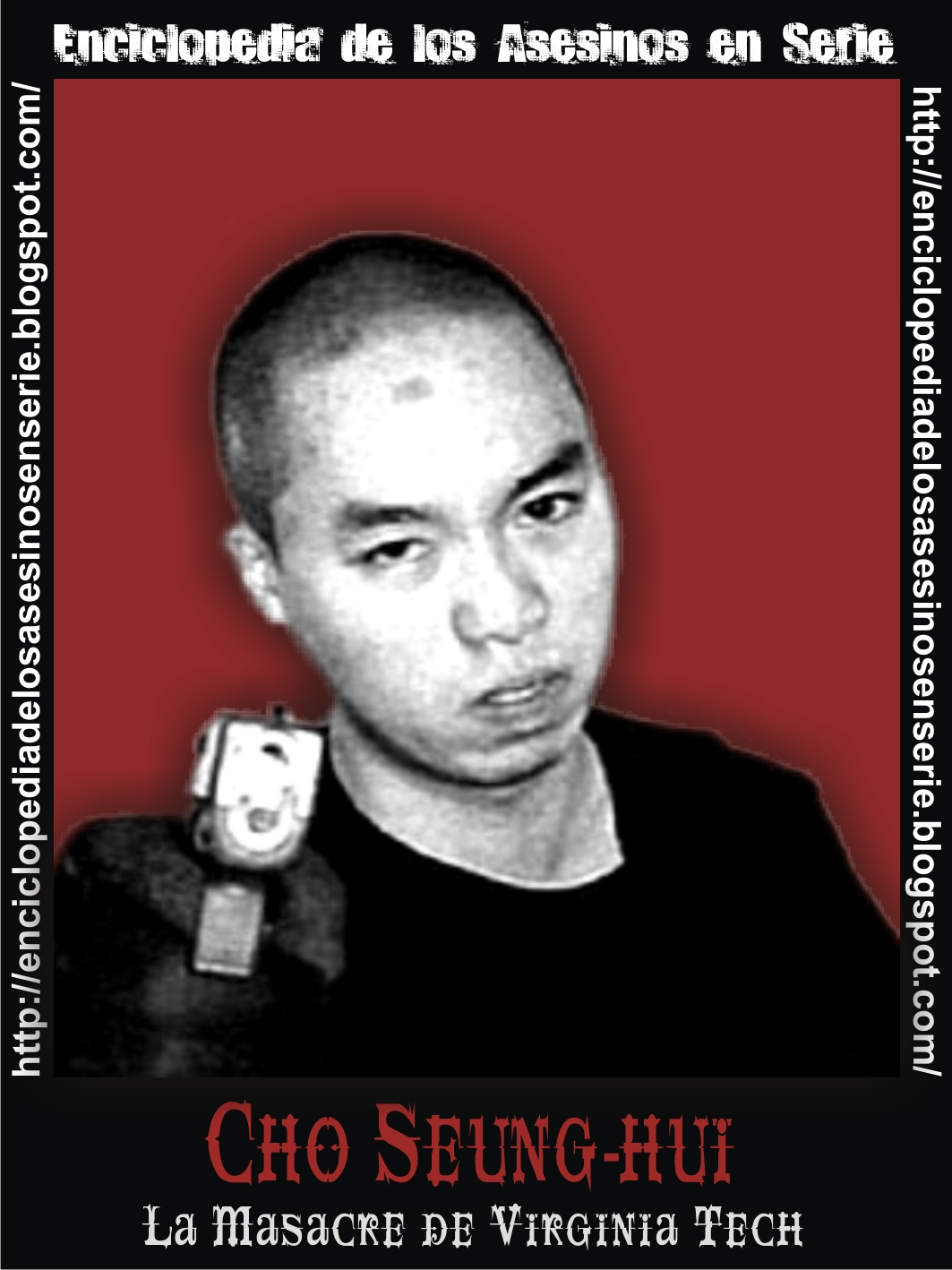 seung hui cho Cho seung-hui (january 18, 1984 - april 16, 2007), was the perpetrator of the virginia tech massacre of april 16, 2007, in blacksburg, virginia, united states, according to police reports.