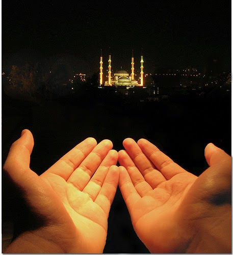 Gambar DP BBM Doa Islami Ridho Allah
