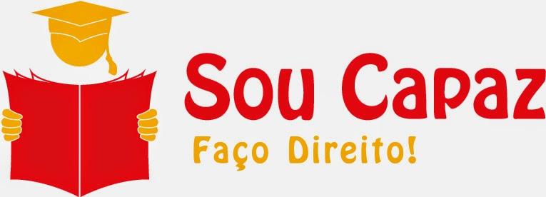 Criação Logomarca para Curso Jurídico Sou Capaz