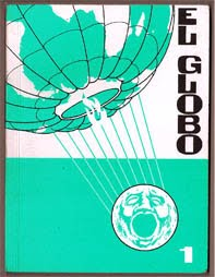 El GlOBO , a self-published comic by Dan Hallett, printed & bound by Tranis, Gracia, Barcelona.
