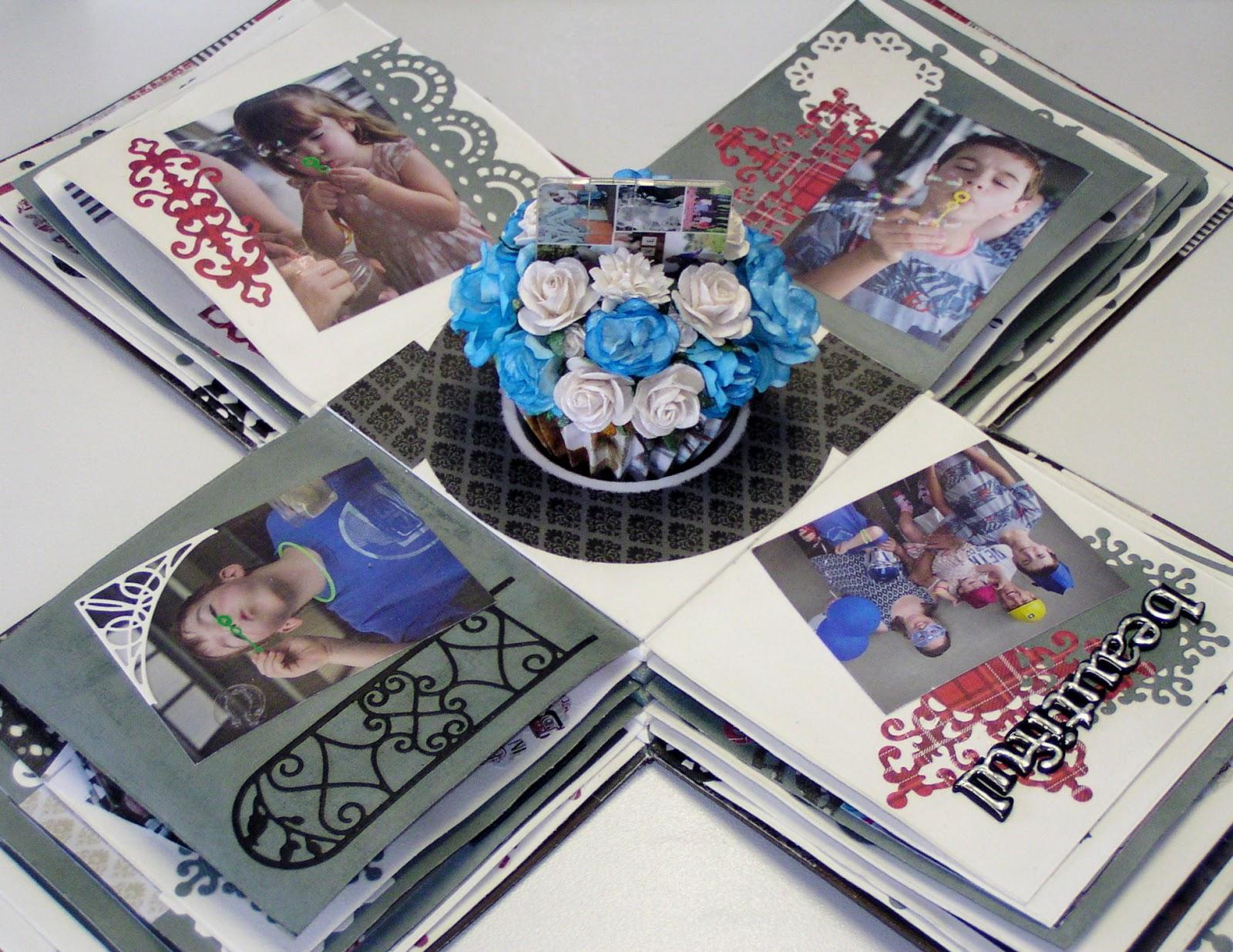 Memory Maze Laser cuts Design: Exploding Photo Box and Ohhh so Cute ...