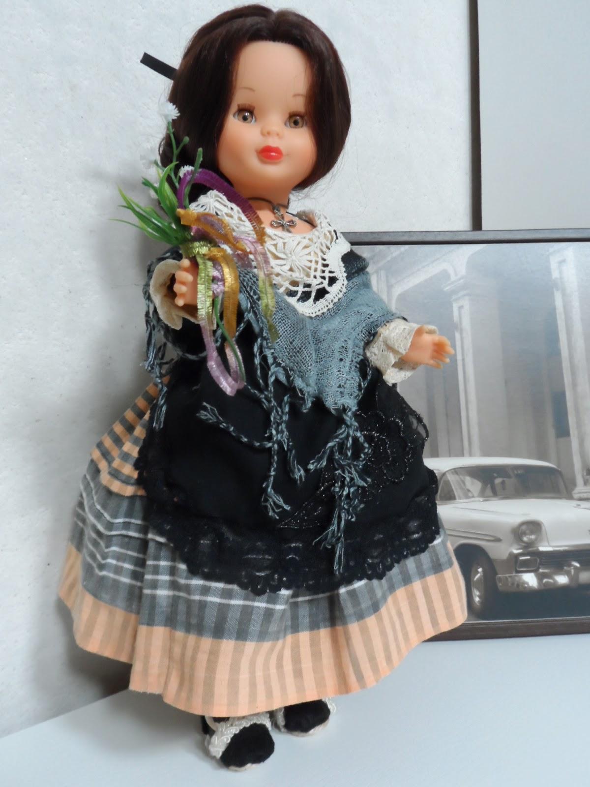 Nancy de famosa vestida de baturra 2014