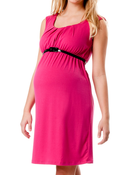 destination-maternity-sleeveless-belted-maternity-dress-pink