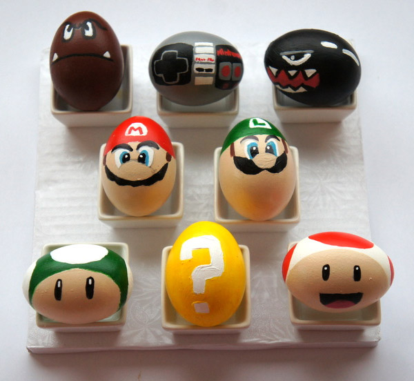 Huevos de Pascua Decorados Vol3 (21 Fotos)  Imagenes y Carteles