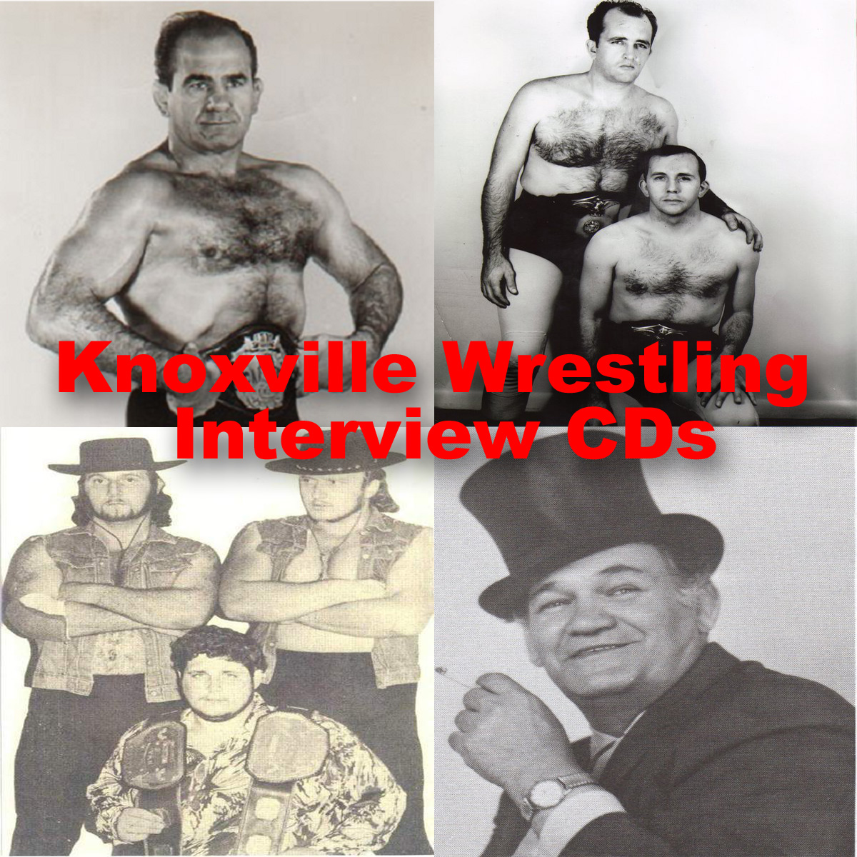Knoxville Wrestling 1970s Audio CDs only $12