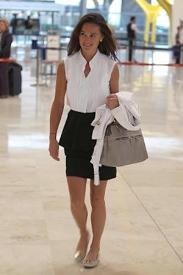 Pippa Middleton visita Madrid