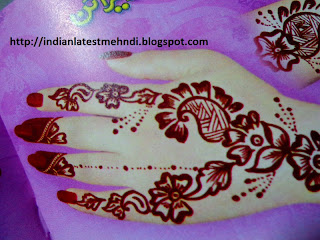 new easy mehndid designs 2013 5