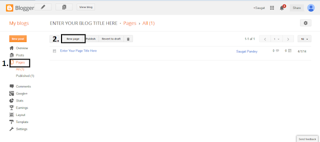 How to Create a Free Html Sitemap Page For Blogger 2014?