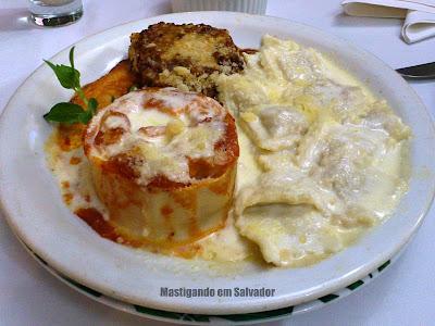 Di Liana Ristorante Italiano: Le Tre Paste - Lasagne, Rondelle e Ravióli