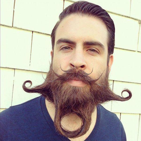 Crazy mustache