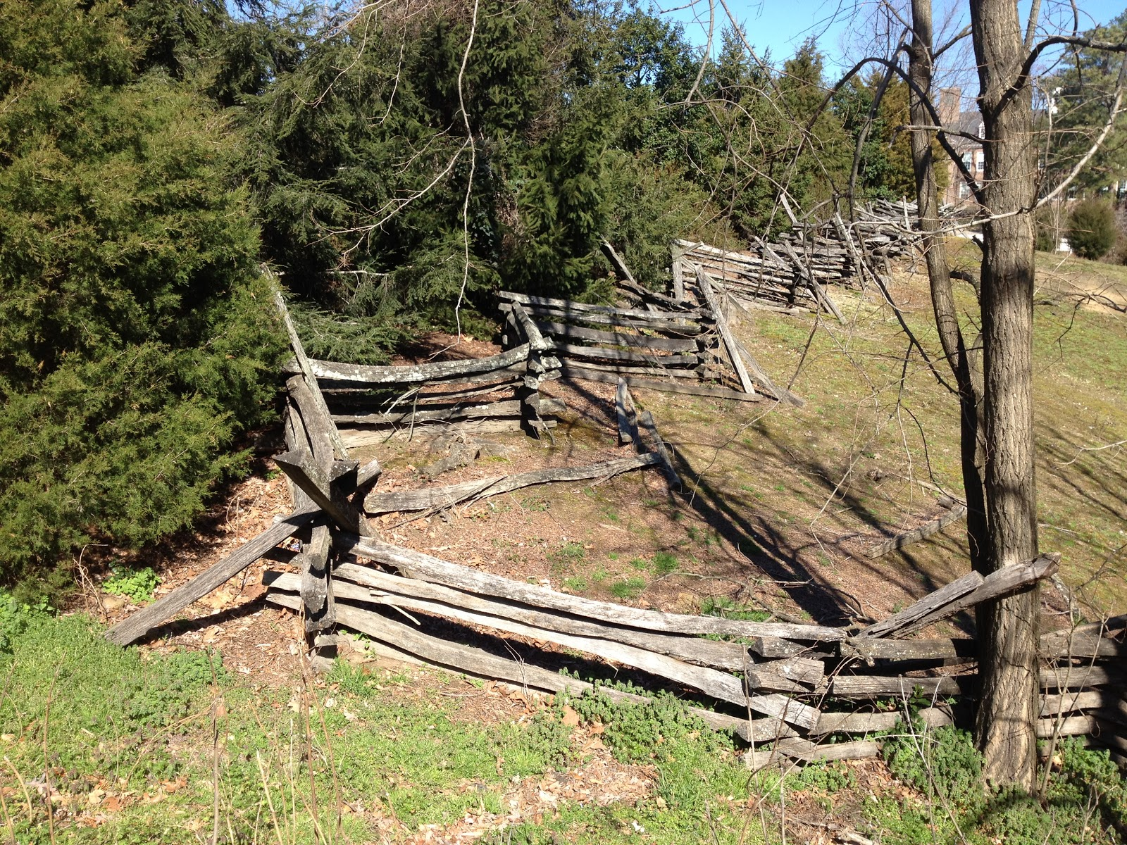 Usmrr aquia line and other model railroad adventures for Colonial fence designs