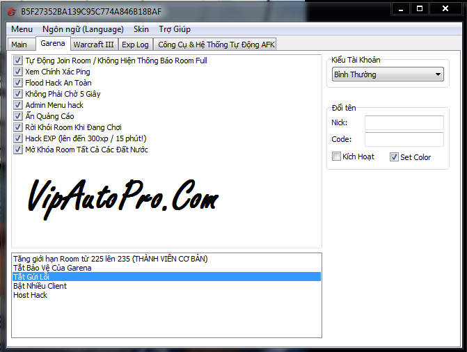 download phien ban hack vlcm