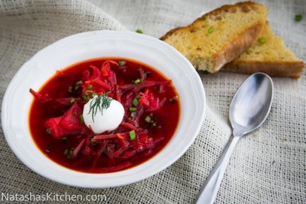 Russian, food, travel, borsch