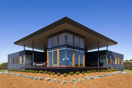 Beach glass design home modern house plans designs 2014 for Modern glass home plans