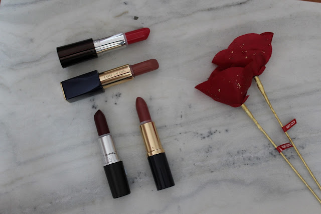 The bet colours of lipstick for Autumn