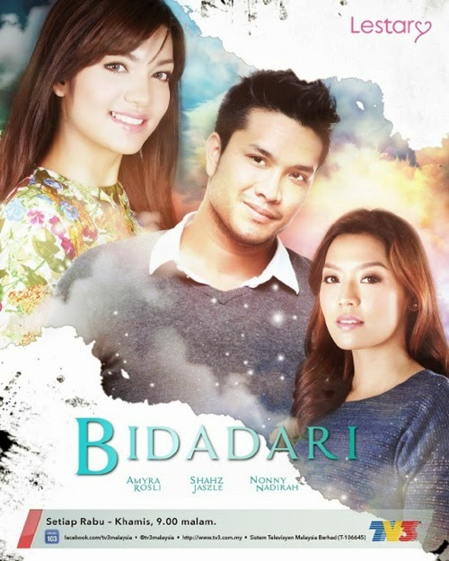 Sinopsis Bidadari TV3, sinopsis drama Bidadari TV3 Slot Lestary, review drama Bidadari TV3, gambar drama Bidadari TV3, pelakon drama Bidadari